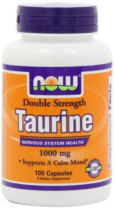 Now Foods Taurine 1000Mg, 100-Capsules -- For more information, visit image link.