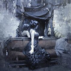 Figures by Jeremy Mann