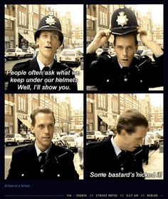 When four GIFs of Hugh Laurie revealed more about Britishness than you thought possible. | 29 Times Tumblr Completely Got What It Means To Be British <---- THIS BUZZFEED THING IS LITERALLY THE BEST THING EVER!!!