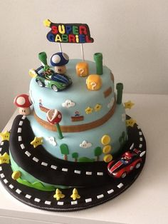 Super Mario Kart - Cake by Maty' Sweet Designs