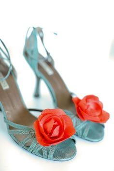 An Orange Bloom- Shoe Clips, another option!