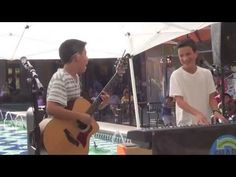 """Please watch and """"LIKE""""/""""THUMBS UP"""" our video..this is our contest video to play at Teen Hoot in Nashville this Summer.  Please re-pin and ask for everyone to help with more """"LIKES"""".  Thank you!      Sharp Turn Ahead"""