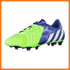 best service fd1a5 3868c Adidas - Predito Instinct FG J - - Color  Green-Blue-White - Size  ( Partner  Link)