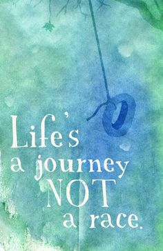 Lifes a Journey Print by Laceybabe on Etsy, $18.00