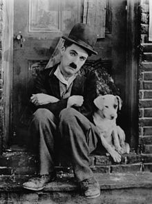 """A Dog's Life (1918). It was around this time that Chaplin began to conceive the Tramp as """"a sort of Pierrot"""", or sad clown"""