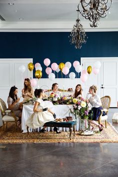 let them eat cake! this is the most fun idea for a bridal shower!