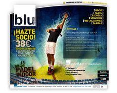 Blupadel. Club de Padel Indoor. CMS. Alicante. 2012.