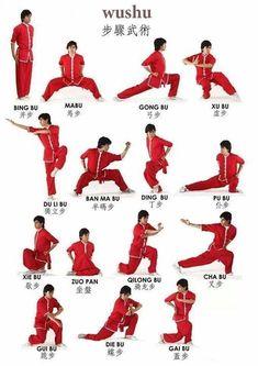 Wushu Stances