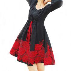 Shirt   Maple Leaf mini dress  off 20sale by xiaolizi on Etsy, $47.20