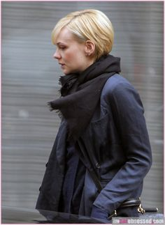 Carey Mulligan hair cut