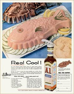 The 1956 ad calls it Tuna Mold but it's really Tuna Mousse