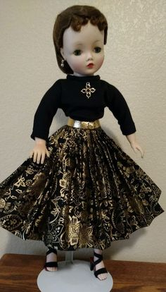3 PC Vintage Cissy Doll Outfit - DollDreams By Natalie