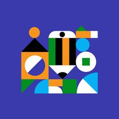 Flat Illustration, Character Illustration, Graphic Design Illustration, Typography Logo, Logos, Hybrid Art, Cubism Art, Instagram Highlight Icons, Retro Art