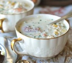 CORN AND CRAB CHOWDER RECIPE: Take a look at this recipe for making a delicious crab and corn chowder.