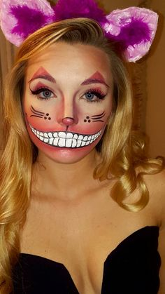 Cheshire Cat Halloween costume Alice in wonderland
