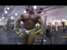 Jay Cutler chest workout full for mass at gym
