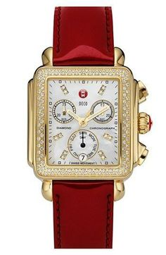 We <3 this Michele watch combination
