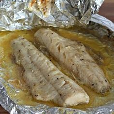 Grilled Fish Recipes Walleye