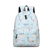 5f7e15bfdae7 Backpack 2018 Waterproof Printing Back Pack Women Fashion Casual Canvas  Knapsack Large Capacity Schoolbags Laptop Travel Mochila