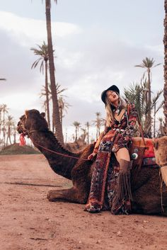 Louise Xin - Kiss The Sky Jumpsuit, River Island Over The Knee Boots - Sahara desert Bohemian People, Copenhagen Fashion Week, Old Models, Gypsy Style, Coachella, Over The Knee Boots, Fashion Boots, Boho Chic, Stylists