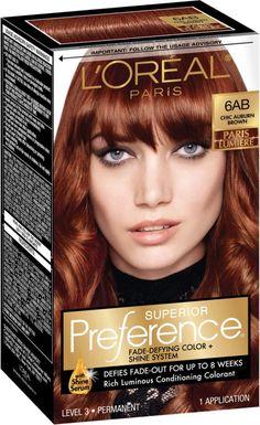 L'Oreal Superior Preference Fade-Defying Color & Shine