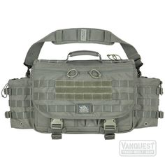 USA Shipping Only VANQUEST ENVOY Messenger Bag (Foliage Green)