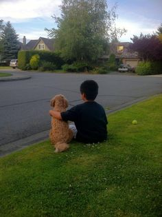 Every child should have a dog.  And every dog should have a child.