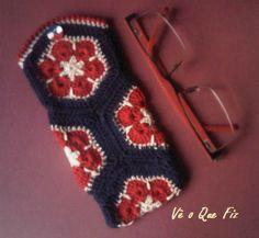 Vê O Que Fiz Crochet Handbags, Fingerless Gloves, Arm Warmers, Facebook, Fashion, Crochet Bags, Mittens, Moda, Fingerless Mitts