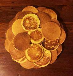 Les pancakes pour l'anniversaire de Xavier