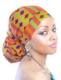 kente_headwrap ~African fashion, Ankara, kitenge, African women dresses, African prints, Braids, Nigerian wedding, Ghanaian fashion, African wedding ~DKK