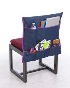 Pockets for your desk chair to make even your chair an organized space!