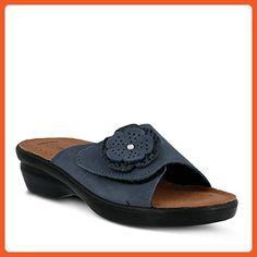 b46d12b59ea410 Flexus Womens Fabia Essentials Slide Sandal