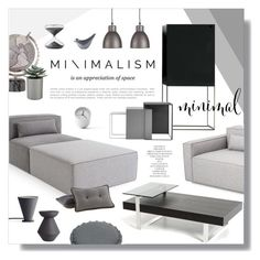 """""""Untitled #845"""" by valentina1 ❤ liked on Polyvore featuring interior, interiors, interior design, home, home decor, interior decorating, Gus* Modern, Crate and Barrel, Menu and Timing"""