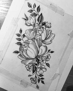 "715 Likes, 4 Comments - Alina Zubova (@alinazubova.tattoo) on Instagram: ""☕️ good night ( sketch for @greenada )"""
