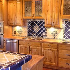 Southwestern kitchen
