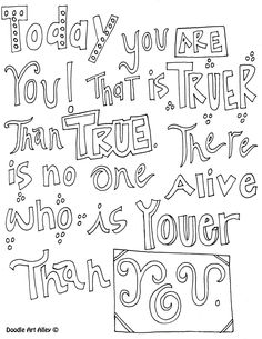All Quotes Coloring Pages | 2017 seuss 2 | Pinterest | Color ...