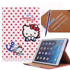 Ipad Air 2 Cases, Ipad Case, Leather Case, Pu Leather, Stylus, Apple Ipad, Protective Cases, Free Gifts, Cell Phone Accessories
