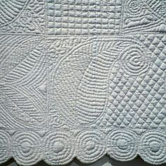 picture 3 -  Welsh RIB quilt (detail)