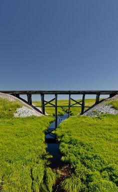 ✮ Railroad Bridge - McLaughlin, South Dakota