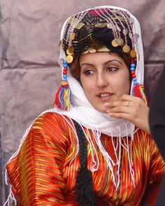 Turkish Woman. . .      . . .    . . .               in a Delightful Traditional Dress.