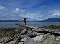 Vancouver walks - Beach trail - A walk and a lark