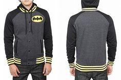 Batman Varsity Hoodie<3<3<3