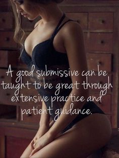 Submission is an art which requires practice & guidance to improve.