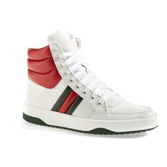e054cf6a2 Women's Gucci 'Ronnie' High Top Sneaker (2.100 RON) ❤ liked on Polyvore
