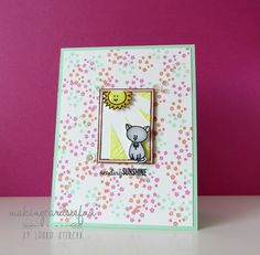 makingcardsisfun.com: Create a Smile Stamps August Release Blog Hop
