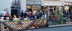 Parklet; SubRosa Coffee Oakland
