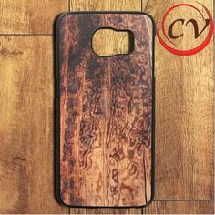 Burned Wood Pattern Samsung Galaxy S6 Edge Plus Case