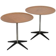 George Nelson Pair of Side Tables by Herman Miller 1