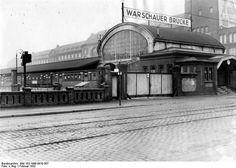 U-Bahnhof Warschauer Bruecke 1932