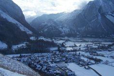 Accous et Bedous en hiver - Vallée d'Aspe, Pyrénées Atlantique